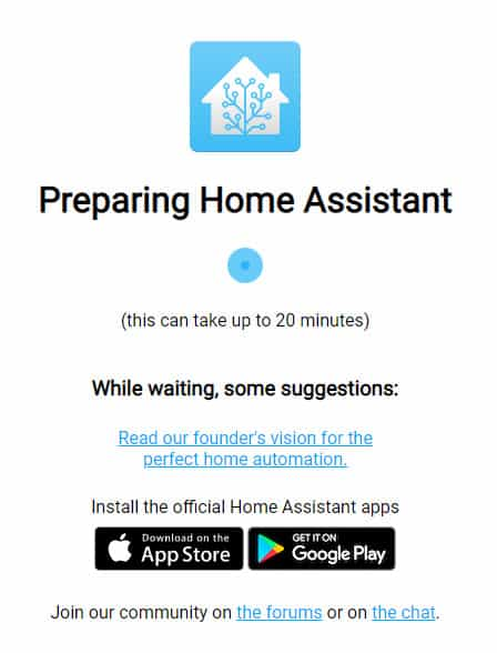 Home Assistant instalation