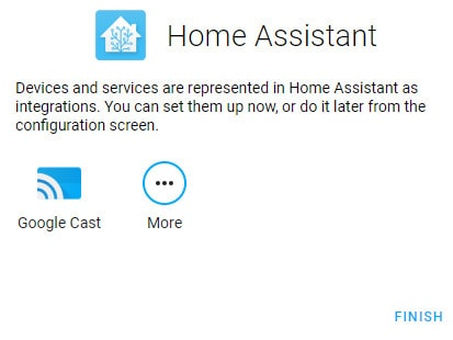 Home Assistant config end