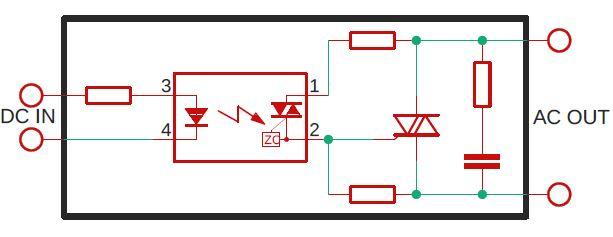 SSR internal schematic