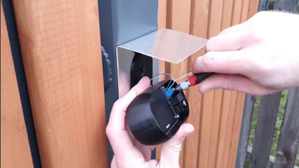 Smart doorbell assembly 6