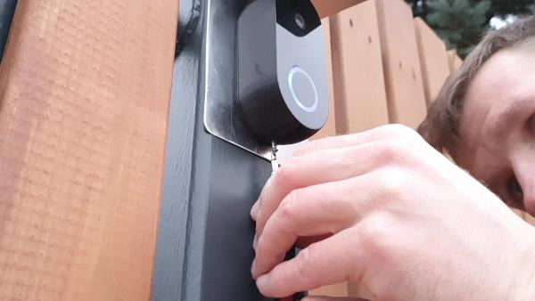 Smart doorbell assembly 7