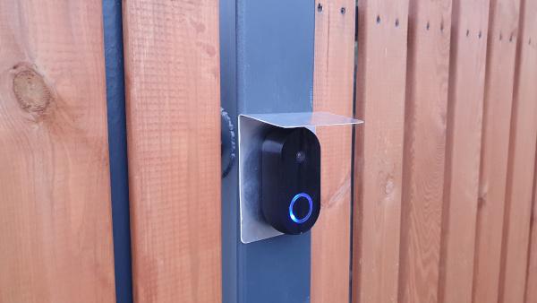 Smart doorbell assembled 2