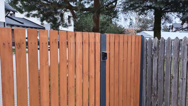Smart doorbell assembled 1