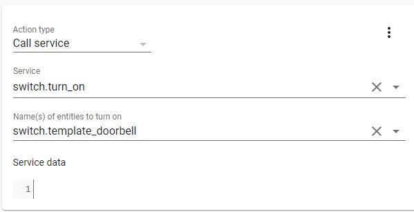 Smart Doorbell automations android 8