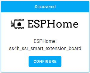 ESPHome new device