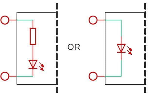 input circuit schematic