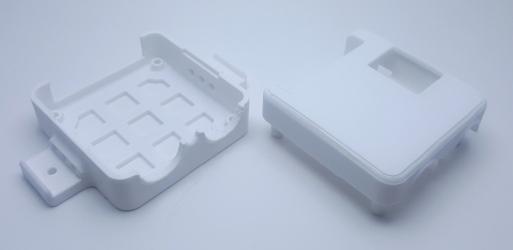 ss4h-go smart garage door opener case white