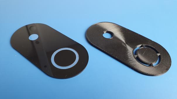 ss4h-sd smart doorbel front panels